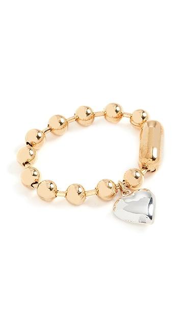 Timeless Pearly Gold Bracelet