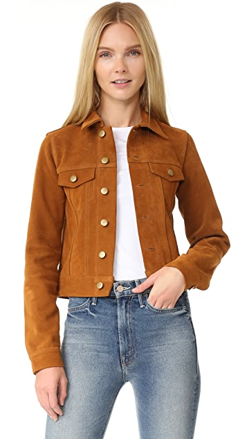 ThePerfext Daisy Suede Jacket