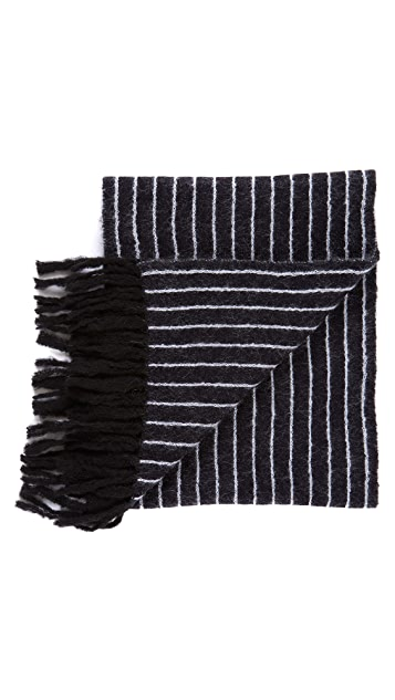 3.1 Phillip Lim Pin Stripe Scarf