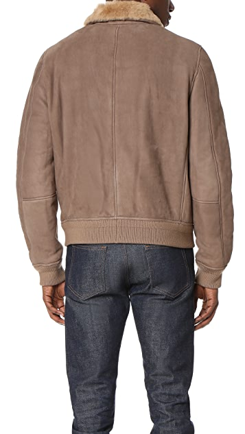 3.1 Phillip Lim Shearling Pilot Jacket