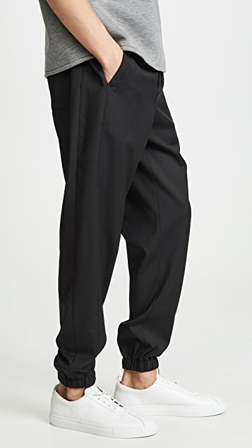 3.1 Phillip Lim Classic Lounge Pants With Tuxedo Stripes