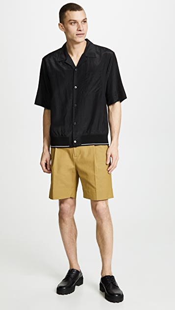 3.1 Phillip Lim Slim Pleated Walking Shorts