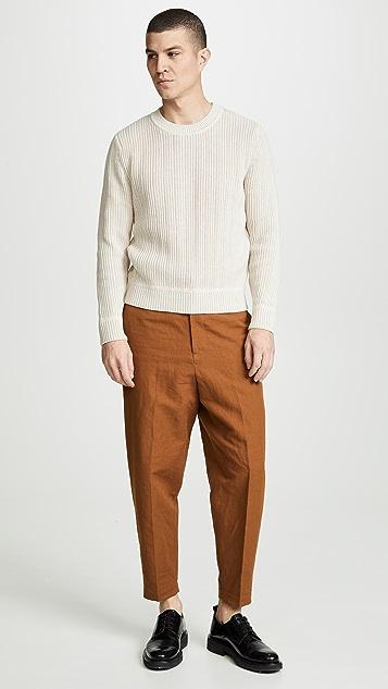 3.1 Phillip Lim Textured Pullover Sweater