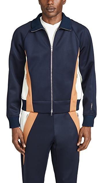 3.1 Phillip Lim Colorblock Track Jacket