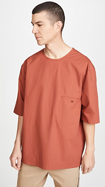 3.1 Phillip Lim Boxy Washed Poplin T-Shirt