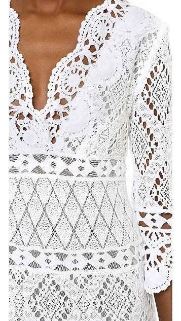 Temptation Positano Crochet Dress