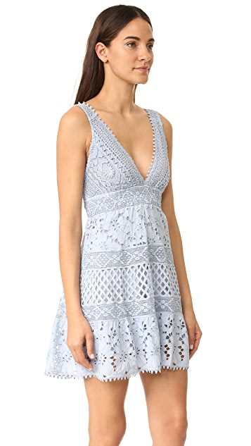 Temptation Positano Sleeveless Lace Dress