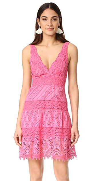 Temptation Positano V Neck Dress