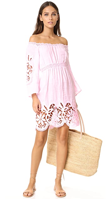 Temptation Positano Linen Dress