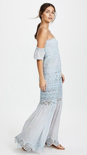 Temptation Positano Bora Bora Long Strapless Dress