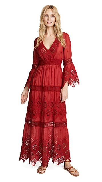 Temptation Positano Samoa Long Sleeve Dress