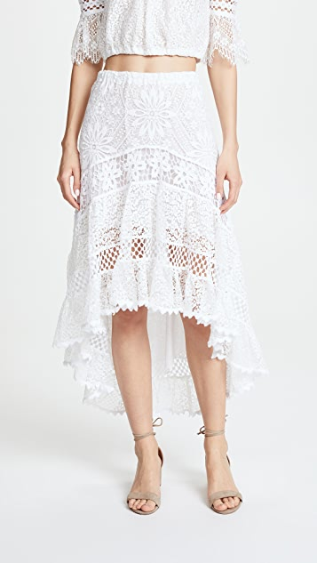 Temptation Positano High Low Skirt