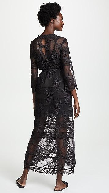 Temptation Positano Flores Wrap Dress
