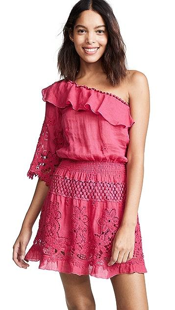 Temptation Positano Bali One Shoulder Short Dress