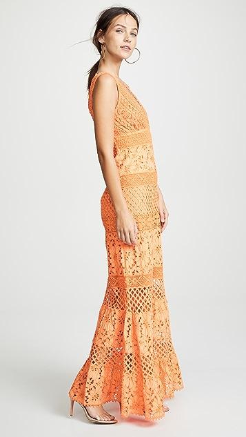 Temptation Positano Cassiopea Long Sleeveless Dress
