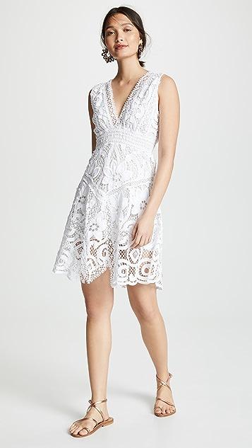 Temptation Positano Pavia V Neck Short Dress