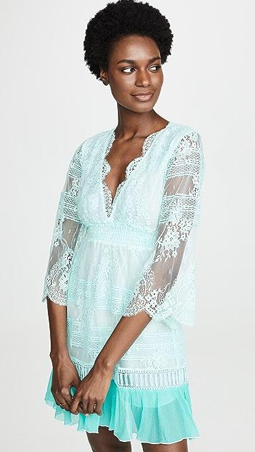 Temptation Positano Oman Dress - Aqua