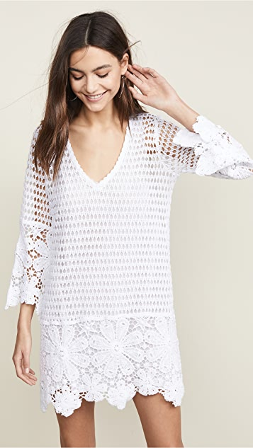 Temptation Positano Cosenza Retro Crochet Dress