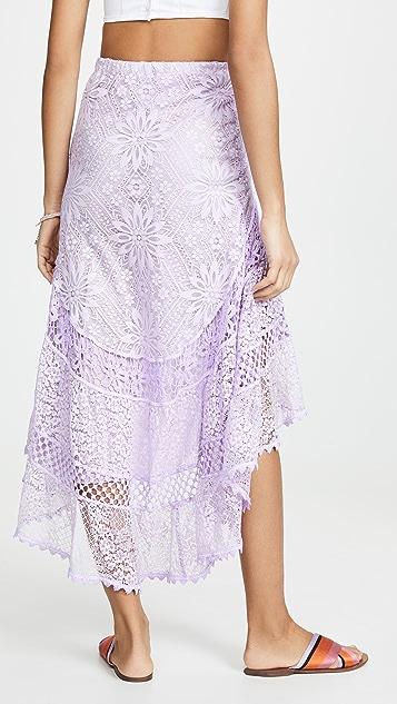 Temptation Positano Асимметричная юбка Lamu
