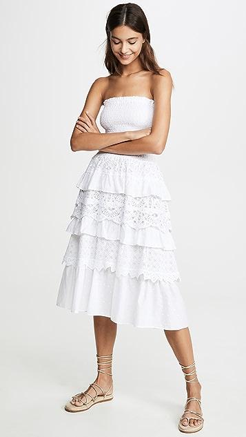 Temptation Positano Многослойное платье без бретелек