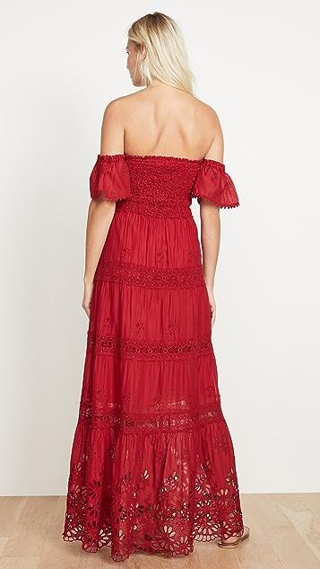 Temptation Positano Butterfly Sleeve Dress