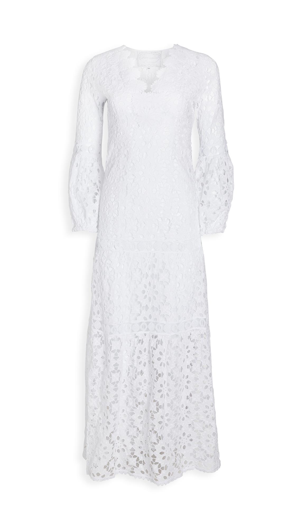 Temptation Positano Argentino Daisy Lace V Neck Gown