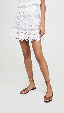 Quito Lace Miniskirt
