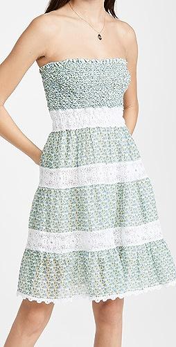 Temptation Positano - Ischia Ruched Floral Dress