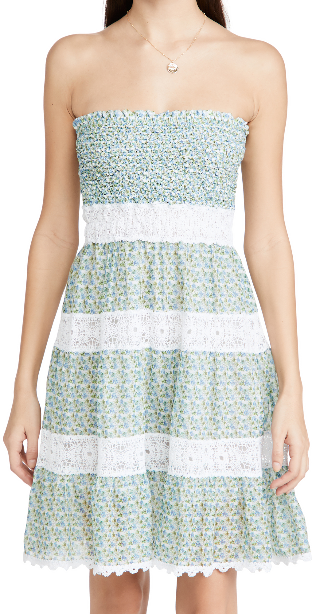 Temptation Positano Ischia Ruched Floral Dress