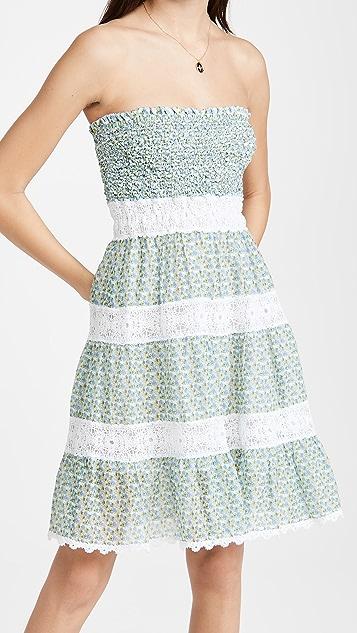 Temptation Positano Ischia Ruched Floral Dress