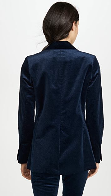 TRAVE Emerson 天鹅绒西装外套