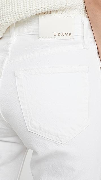 TRAVE Constance 锥形直脚裤