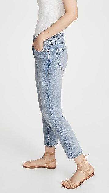 TRAVE Свободные зауженные джинсы Karolina