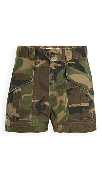 TRAVE Lucy High Waist Shorts