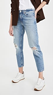 TRAVE Karolina Relaxed Taper Jeans