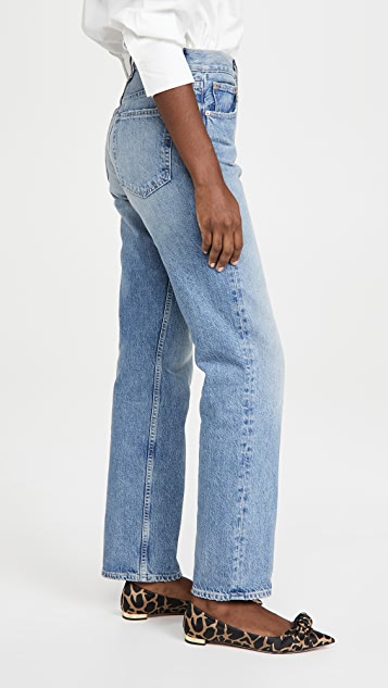 TRAVE Paloma 90's Straight Full Length Jeans