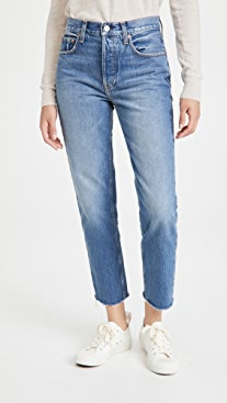 TRAVE Constance Straight Tapered Jeans