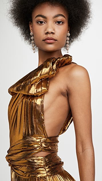 TRE by Natalie Ratabesi One Shoulder Gown