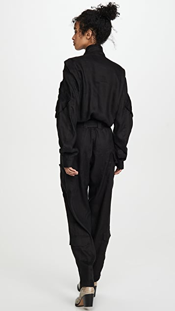 TRE by Natalie Ratabesi Long Sleeve Jumpsuit