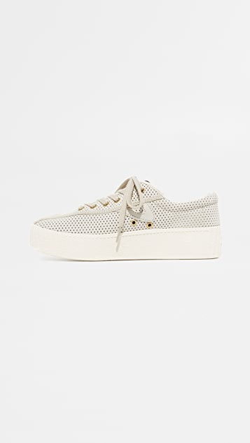 Tretorn Nylite Bold III Perforated Platform Sneakers