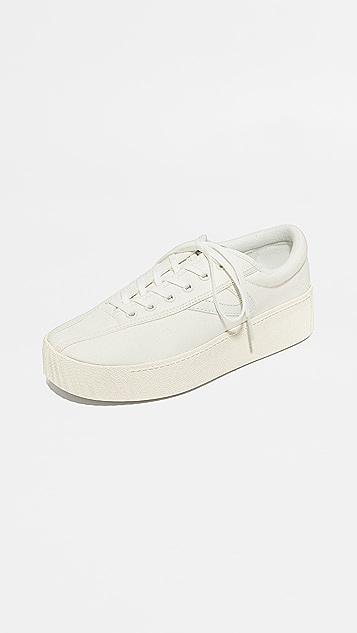 new concept 5f39b 98c2b Tretorn Nylite Bold Platform Classic Sneakers ...