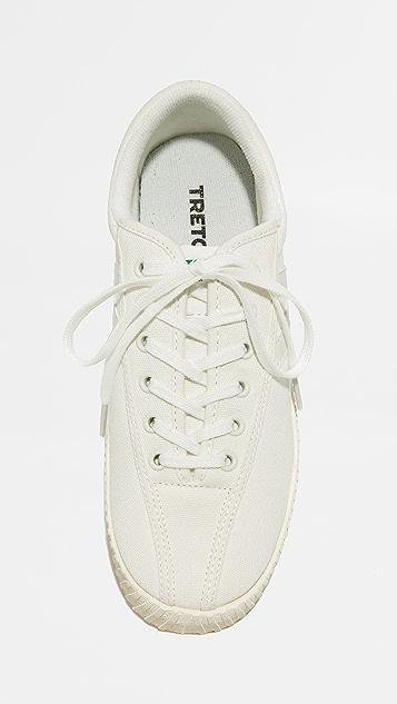 Tretorn Яркие классические кроссовки на платформе Nylite