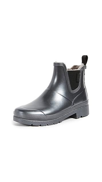 Tretorn Lina Faux Fur Rain Booties