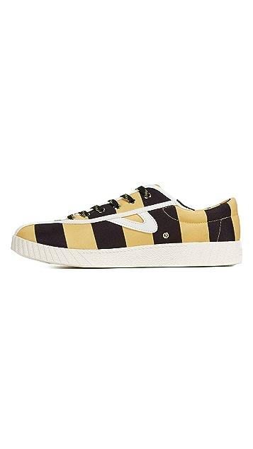 Tretorn x Andre 3000 Benjamin Rugby Stripe Nylite Sneakers