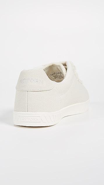 Tretorn Carry Fringe Velcro Sneakers