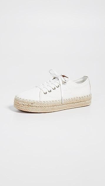 Tretorn Eve 系带编织底运动鞋