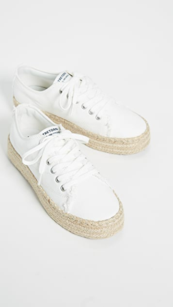 Tretorn Eve Lace Up Espadrille Sneakers