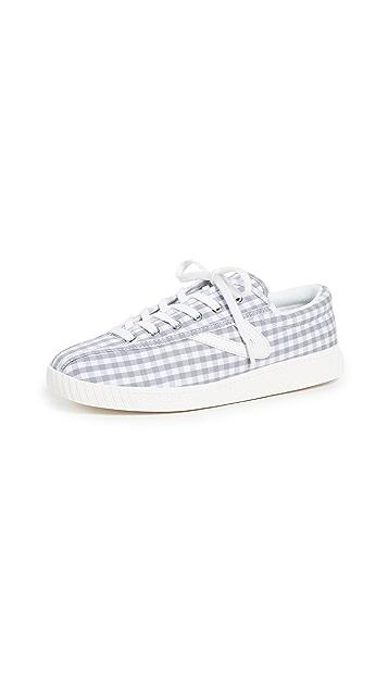 Tretorn Nylite Gingham Sneakers