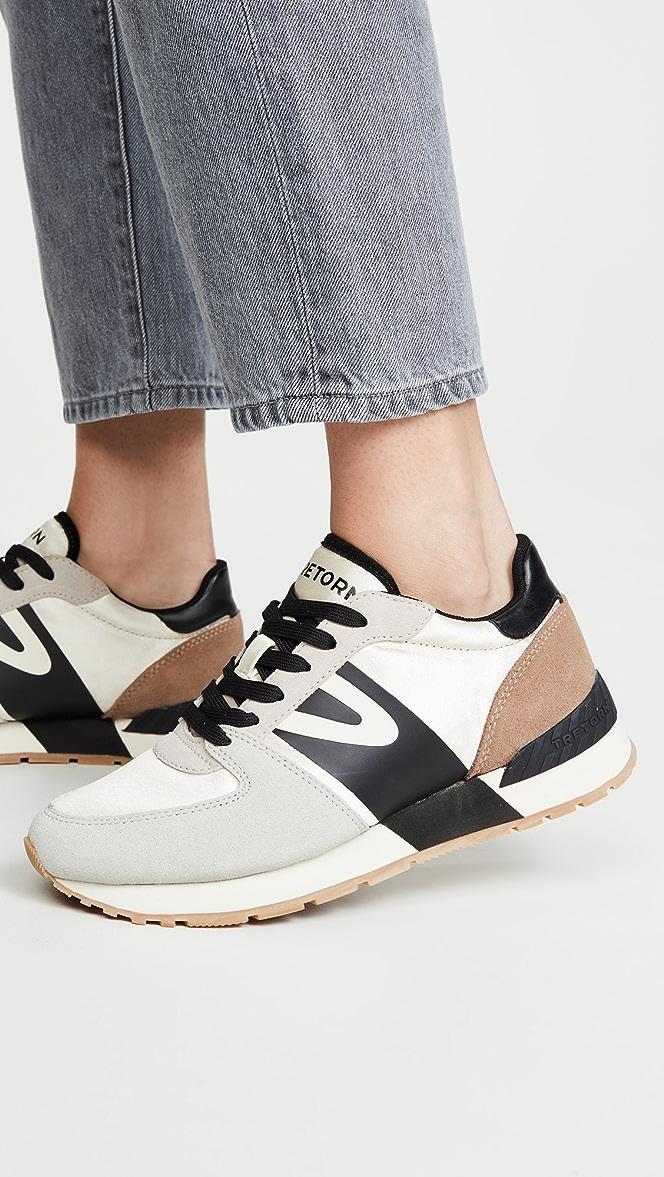 tretorn loyola leopard sneakers