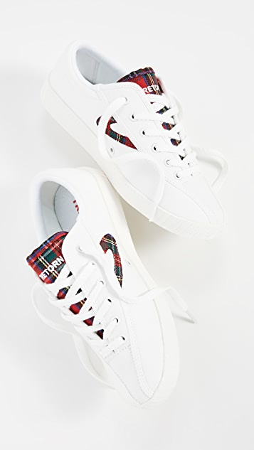 Tretorn Nylite 28 Plus Lace Up Sneakers